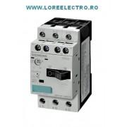 3RV1011-0JA10 motorstarter disjunctor trifazat Protectie motor P 0,25KW, SIEMENS, In 1A, reglaj Ir ( 0,8A ... 1A )