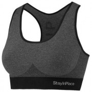 Stay In Place StayInPlace Rib Seamless Bra * Fri Frakt *