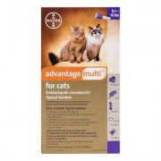 Advantage Multi (Purple) for cats over 10lbs 6 + 2 Free Doses