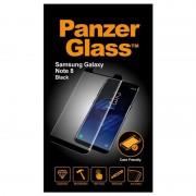 Protector de Ecrã PanzerGlass Compatível com Capa para Samsung Galaxy Note 8 - Preto