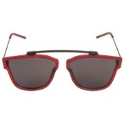 touch of fine Retro Square Sunglasses(Black)