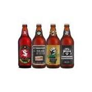 Kit Cerveja Artesanal Bamberg Bandas 4 Estilos