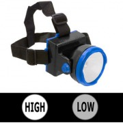 Rechargeable Ultra Bright 1 Big Led Headlamp Headlight Head Lamp Torch Flashlight - 43 B