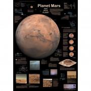 Poster planeta Marte