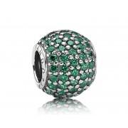 Pandora Bedel zilver groen 791051CZN