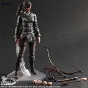 Tobyfancy The Tomb Raider Action Figure Lara Croft Play Arts Kai Toys 270mm Anime Movie Toys Rise of The Tomb Raider