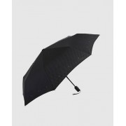 Vogue Paraguas Mini De Hombre Automático En Negro Con Estampado A Cuadros