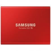 Samsung T5 Bärbar SSD, USB 3.1 - 1TB Röd