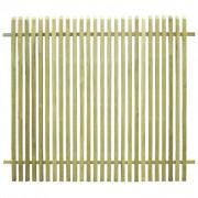 vidaXL Gard pentru grădină, lemn de pin tratat FSC, 170 x 150 cm
