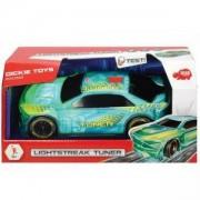 Детска състезателна кола със звук Дики, 20см., синя, 043158