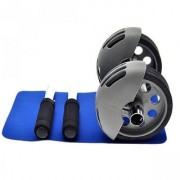 Unique Cartz AB WHEEL POWER STRETCH ROLLER For Fitness Slim Body