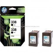 HP CB331EE Patron Bk 2pck No.338 Eredeti HP kellékanyag Cikkszám: CB331EE
