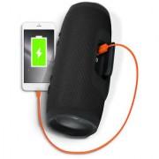 Mettle CHARGE 3 Wireless Portable Bluetooth Mobile/Tablet Speaker -Splash proof ( Black) - MT-BTPS1710