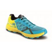 Scarpa Spin Wmn - scuba blue/lemon - Chaussures de course 37,5