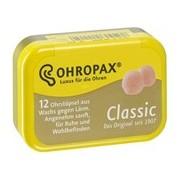 Tampões de cera clássicos 12 unidades - Ohropax