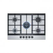 Siemens EC7A5QB90 Piano Cottura a Gas 5 Fuochi Acciaio Inox