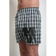 Tumbler & Tipsy Box and Cox Underwear Married Men Plaid Boxers