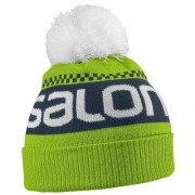 Salomon Czapka Junior Logo Green