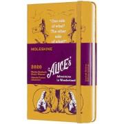 Moleskine Weekly Notebook Agenda-Taccuino settimanale 2020, 12 mesi, Alice ...