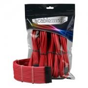 Set cabluri prelungitoare CableMod PRO ModMesh, cleme incluse, Red