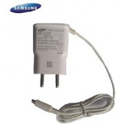 Genuine Samsung EP-TA60IBE Travel Adapter-White-for Galaxy Series + Free Samsung Data Cable