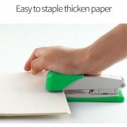 Grapadora De Plástico Mini Juego De Papelería Grapadora Kawaii Accesorios De Oficina De Papel