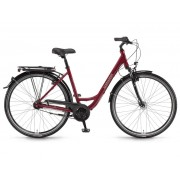 Winora Hollywood monotube 26'' 7-Sp Nexus - 18 Winora bordeaux redsz 42 - City Bikes 42