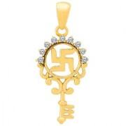 Dare by Voylla Key Shape Swastika Pendant From Spiritual Saga