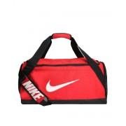 NIKE Brasilia Training Duffel Bag Medium Red