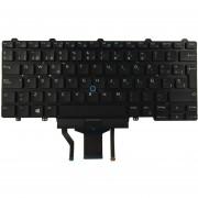 Teclado Dell Latitude E5450 E5470 E7450 E7470 Iluminado Español Negro