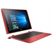 "Notebook 2 en 1 HP X2, Intel Atom, Windows 10, 2 GB, eMMC 32 GB de 10.1"" - Rojo"