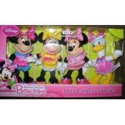 Minnie Mouse Plush And Daisy Duck Plush 2012 Collector Series Exclusive Boxed Set