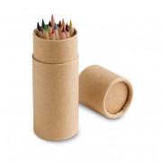 Caja con 12 lápices de color CYLINDER