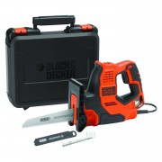 Black & Decker Sierra Scorpion 500W AutoSelect + 3 hojas y maletín Black+Decker RS890K-QS