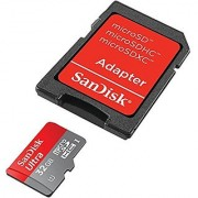Sandisk SDSDQUA-032G-A46A Ultra 32GB micro SDHC Flash Card With Adapter
