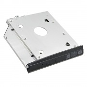 "Voor hp elitebook 2560 p 2570 p aluminium hdd caddy 9.5mm SATA 3.0 2.5 ""SSD HDD Box Case Adapter CD DVD optibay professionele"