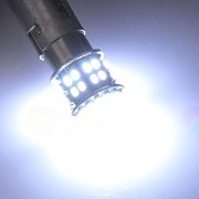 AST Works T20 7443 W21/5W 1206 50SMD Car Tail Turn Braket Parking White LED lamp ONE PC