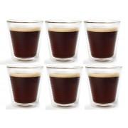 Hovac G15 dubbelwandig koffie-/theeglas 20cl (set van 6)