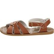 Salt Water Sandals Sandalias de Agua Salada por Hoy Shoe Original (niños/niños pequeños/niños Grandes/Mujeres), Bronceado, 2MUS Poco Niño
