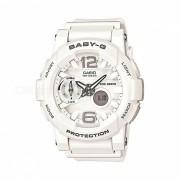 casio baby-g BGA-180-7B1 ladies Reloj deportivo con resistencia al agua de 100 metros - blanco