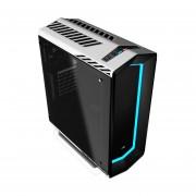Gabinete AeroCool Project 7 White P7-C1 Ventilador USB3 Cristal Led Multi-Colores-Blanco