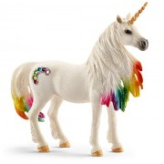 Schleich North America Rainbow Unicorn Mare Toy Figure