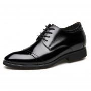 Zapatos De Vestir Hombre Plantilla Alta - Negro