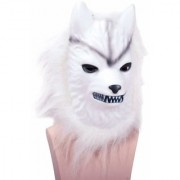 Halloween Wolf Mask Latex Animal Face Mask Costume Party Fancy Mask Cosplay Face Mask (Assorted)