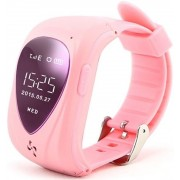 "Smartwatch iUni U11, OLED 0.96"", 2G, GPS, Bratara silicon, dedicat pentru copii (Roz)"