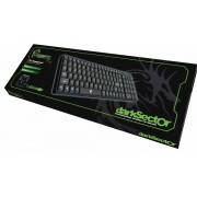 Dragon War Dark Sector Qwerty Gaming Toetsenbord - Zwart (PC)