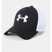 Under Armour Herenpet UA Microthread Golf Mesh - Mens - Black - Grootte: Medium