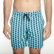 Mr.Swim The Dale Boxes Shorts Swimwear Blue