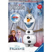 Puzzle Ravensburger 3D - Olaf Frozen II, 54 piese