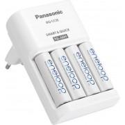 Încărcător acumulatori NiMH + 4 acumulatori AA, Panasonic BQ-CC55E